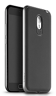 Чехол накладка IPAKY TPU + бампер PC для Meizu M2 Note серый