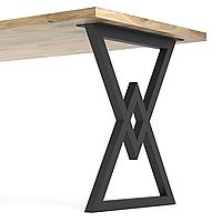 Опора для стола из металла 600×100mm, H=730mm