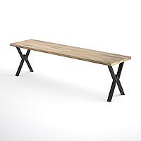 Каркас для скамейки из металла 1500×300mm, H=400mm
