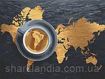 Картина по номерам  Представь Бразилию 40х50 см 10553-AC Art Craft