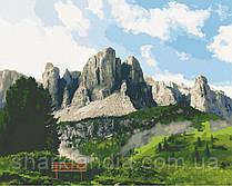 Картина по номерам  Доломитовые Альпы 40х50 см 10555-AC Art Craft