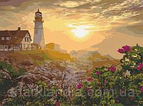 Картина по номерам  Маяк в Портленде. США 40х50 см 10549-AC Art Craft
