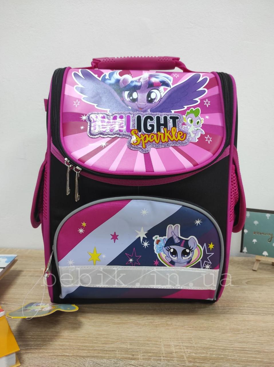 Дитячий шкільний ранець для дівчинки Little Pony 34х26х12 см
