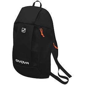 Детский спортивный рюкзак для тренировок Givova Zaino черный