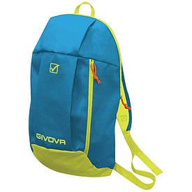 Рюкзак для спорта, футбола и тренировок детский Givova Zaino голубой