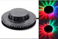 Вращающаяся диско лампа для вечеринок Ball 2015-4, светомузыка, LED lamp для вечеринок
