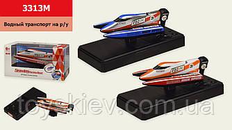 Лодка батар р у 3313M (60шт) 2 цвета,  в кор. р-р упаковки – 16.5*7.5*8.5 см, р-р игрушки – 14*4.5*4