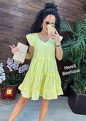 Лёгкое, нежное, воздушное платье