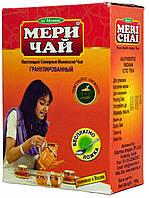 Чай черный гранулированный индийский MeriChai 100г. (Ложка в подарок)