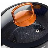 Набор кастрюль с гранитным мраморным покрытием 10 предметов Top Kitchen Deluxe TK00012, фото 5
