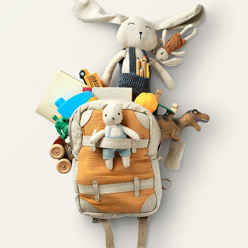 Дошкольный детский рюкзак: для чего нужен?