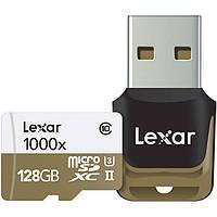 Карта памяти Lexar 128GB Professional UHS-II 1000x microSDXC (Class 10, U3)