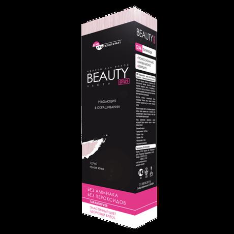 2/0 Черный Крем-краска iNova Acme-Professional Beauty Plus, 75 мл.