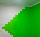 Самоклеющиеся 3Д панели, декоративные стеновые панели 5 мм, Зеленый кирпич, фото 6