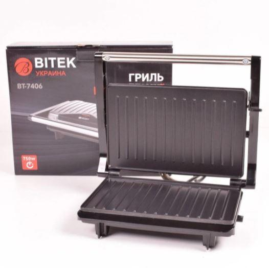 Електро гриль Bitek BT-7406 750ВТ