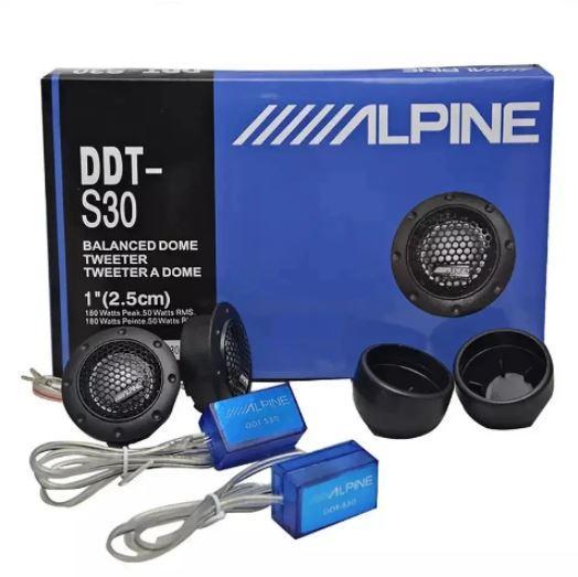 Автомобільні ВЧ динаміки твітери Alpine DDT-S30 180W