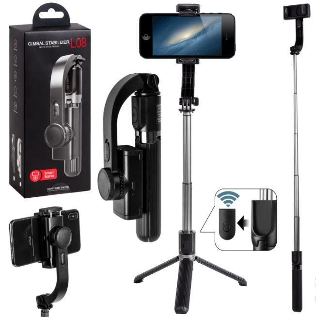 Стабилизатор  L08 4в1 для смартфонов Gimbal Stabilizer