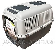 Переноска для собак MP Bergamo BRACCO TRAVEL №4 IATA с поилкой 70*50*51,5 см