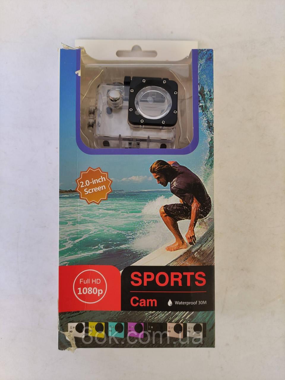 Экшн-камера FULL HD 1080P Sports Cam
