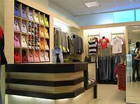 Торговое оборудование для магазина одежды под заказ