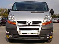 Передняя губа (под покраску) для Renault Trafic 2001-2015 гг.