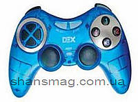USB джойстик ПК PC GamePad DualShock вибро DEX 892