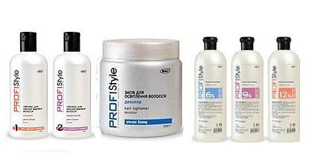 Химическая завивка и осветление волос PROFIStyle