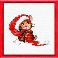 Набор для вышивания крестом «С Новым годом!» Чарівна Мить 444