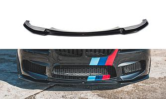 Спліттер BMW M6 F06 елерон тюнінг переднього бампера (V2)