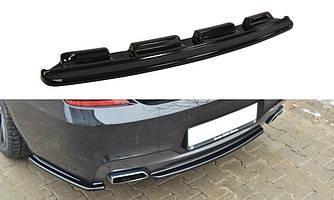 Дифузор BMW F06 F13 M Sport елерон тюнінг обвіс (V1)