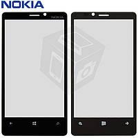 Защитное стекло корпуса для Nokia Lumia 920, черный, оригинал
