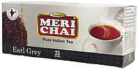 Чай черный среднелистовой индийский MeriChai с бергамотом 25п.*2г.(Ложка в подарок)