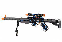 Снайперська гвинтівка іграшка зі світлом і звуком з прицілом, від 3 років, 63 см, Same Toy