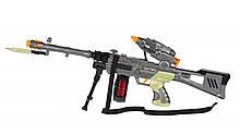 Іграшка кулемет зі звуком і світлом, від 3 років, 60 см, Same Toy