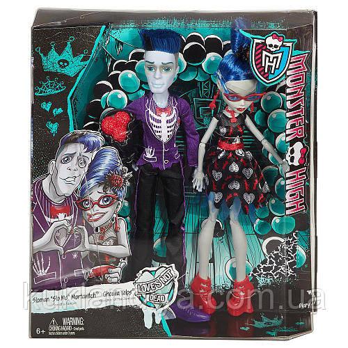Набор Monster High Гулия Йелпс и Слоу Мо серия Любовь не умирает