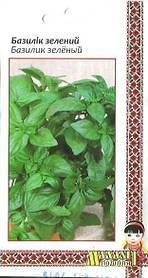 Семена Базилик зеленый 0.2г Зеленый (Малахiт Подiлля)