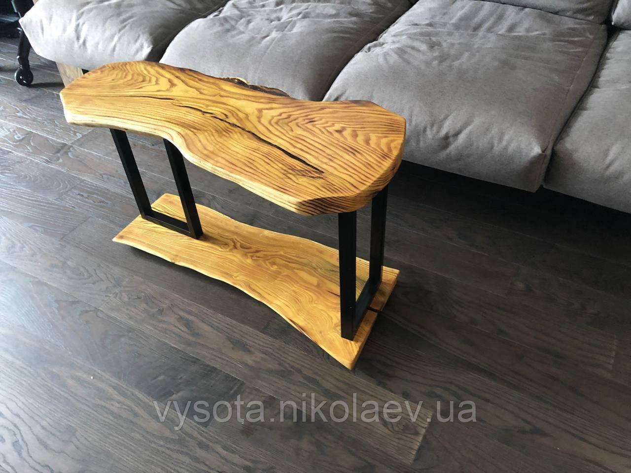 Журнальний столик з натурального дерева Шовковиця