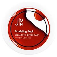 Альгинатная маска Очищение и сужение пор J:on Cleansing & Pore Care Modeling Pack,18g