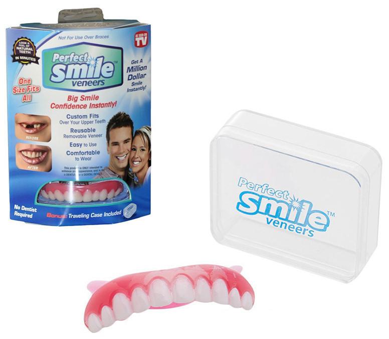 Накладка на зуби Perfect smile Veneers Вініри . Накладні зуби.