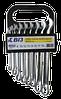 Набор ключей гаечных комбинированных (8,10,12,13,14,15,17,19мм) (профи)