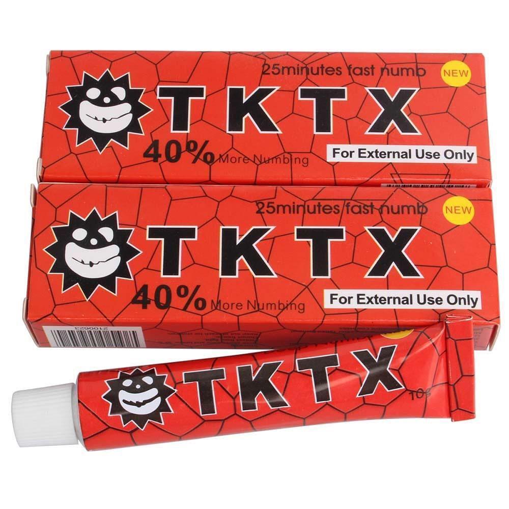 Крем анестетик TKTX Червоній 40%