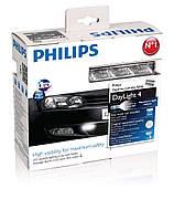 Philips LED Daytime lights DayLight 4, 12В, Светодиодные дневные ходовые огни (12820WLEDX1)