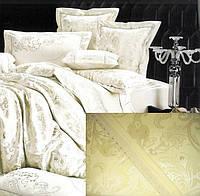 Жаккардовое постельное белье 200х230 GoldenTex GV-266-1