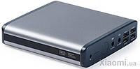 Зовнішній акумулятор (Power Bank) PowerPlant K1 25000 mAh Grey (PB930135)
