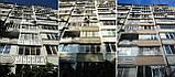 Утепление балкона :: наружное утепление балконов, утепление балкона пенопластом, утепление стен балкона, фото 3