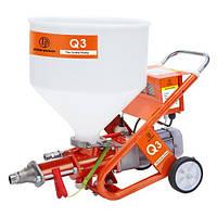 Распылитель штукатурки с винтовым насосом Dino-Power DP-Q3