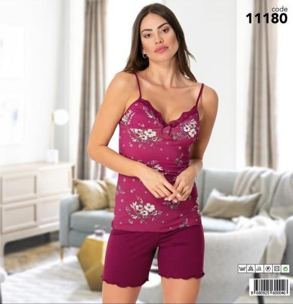 Комплект для сну жіночий віскоза 11143