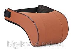 Подушка для шеи автомобильная с эффектом памяти  Кофейный