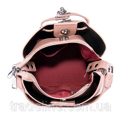 PODIUM Сумка Жіноча Класична позов-шкіра FASHION 01-03 985-2 pink, фото 2