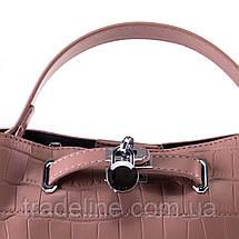 PODIUM Сумка Жіноча Класична позов-шкіра FASHION 01-03 985-2 pink, фото 3